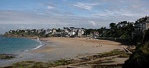 Dinard - Image: Dinard plage Saint Énogat