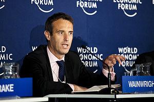 Rob Wainwright (civil servant) - Wainwright at the World Economic Forum in Davos, Switzerland in January 2012