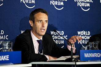 Rob Wainwright (civil servant) - Wainwright at the World Economic Forum in Davos, Switzerland in January 2012