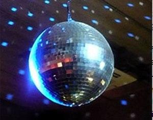 Disco ball - A mirrored disco ball