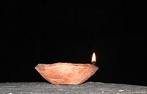 Diya (lamp) - Image: Diya 1