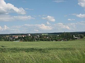 Dobronín - General view of the village