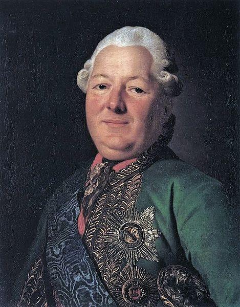 Портрет Василия Михайловича Долгорукова-Крымского работы Рослина, 1776