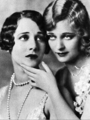 Helene Costello - Costello (left) pictured with her sister Dolores