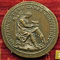 Domenico poggini, medaglia di ippolito II d'este con punto, verso con giovane e lupa.JPG