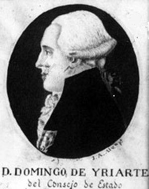 Domingo d'Yriarte - Don Domingo de Iriarte