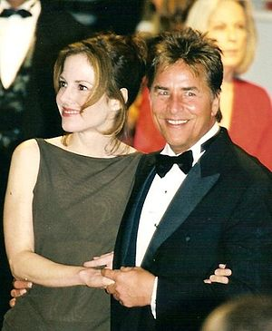 Don Johnson - Johnson and Mary-Louise Parker at the 1998 Cannes Film Festival