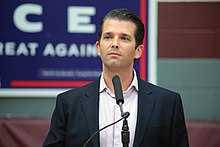 Donald Trump Jr. - the gracious, desirable, celebrity with German, Czech, roots in 2020