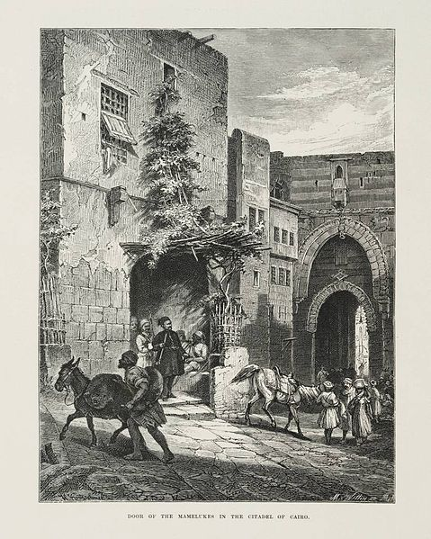 File:Door of the Mamelukes in the Citadel of Cairo (1878) - TIMEA.jpg