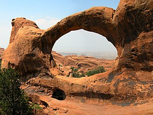 Edward Abbey - Abbey spent time as a park ranger at what became Arches National Park near Moab, Utah