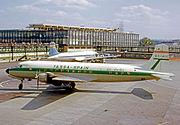 Douglas DC-6 EC-AUC TASSA LGW 29.08.64 edited-2