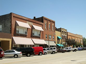 Downtown Peotone Historic District - Image: Downtown Peotone Historic District