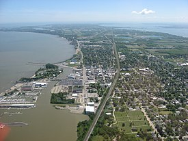 Downtown Port Clinton from the air.jpg