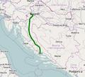 Državna cesta D1 map.png