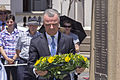 Dr Brendan Nelson laying the wreath at the Centenary of the Kangaroo March commemoration ceremony.jpg