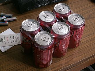 Multi-pack - Six pack rings for beverage cans
