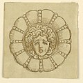 Drawing, Design for brooch with head of Medussa, 16th century (CH 18546077).jpg