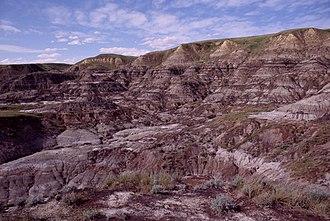 Midland Provincial Park - Badlands in Midland Provincial Park