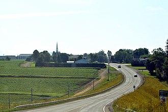 Drummond, New Brunswick - Image: Drummond NB