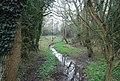 Dry distributary of the River Medway near Little Lucifer's Bridge - geograph.org.uk - 2416165.jpg
