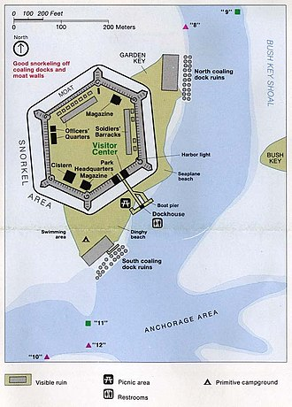Dry Tortugas - Image: Dry tortugas inset 94 garden key