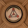 Dublin Christ Church cathedral Shield of Trinity boss.jpg