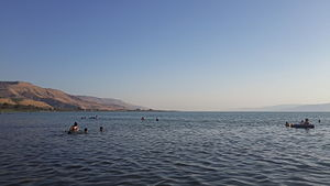 Sea of Galilee - Duga beach, Kinneret