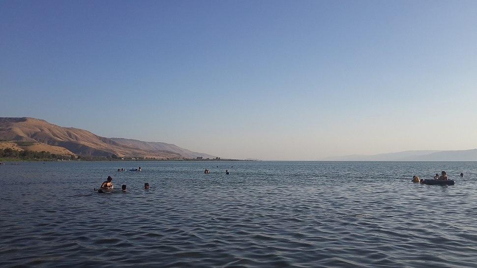 Duga beach on Kinneret lake - 07