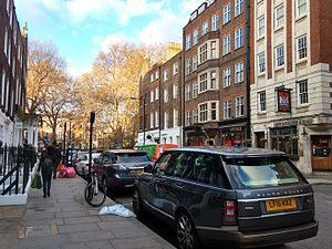 Duke Street, Marylebone - Duke Street looking north towards Manchester Square