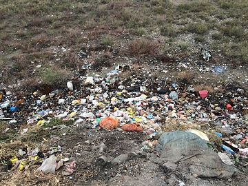 Dump in Issyk.jpg