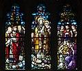 Dundalk Saint Patrick's Pro-Cathedral West Aisle Window 05 Upper Lights 2013 09 23.jpg