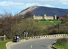 Dungiven Castle and Benbradagh Mountain - geograph.org.uk - 304848.jpg