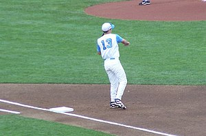 Dustin Ackley - Ackley at the 2009 College World Series