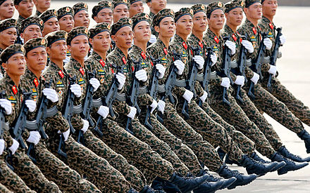 PAVN soldiers during a parade in 2015. Duyet binh.jpg