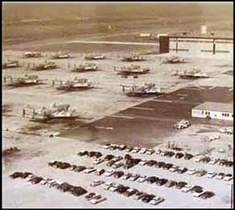 Camp Edwards - EC-121 Connies on the ramp of Otis AFB, this ramp was later used by the 102nd Fighter Wing