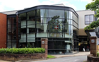 Liverpool Hope University - Image: EDEN Building, Hope Park 1