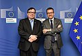 ESO Director General meets European Commissioner for Research, Science and Innovation (38506317424).jpg