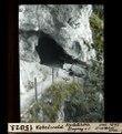 ETH-BIB-Kobelwald, Krystallhöhle Eingang von Süden-Dia 247-15023.tif