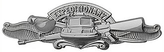 Badges of the United States Navy - Enlisted Expeditionary Warfare Specialist Insignia