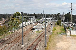 East Hills railway station railway station in Sydney, New South Wales, Australia
