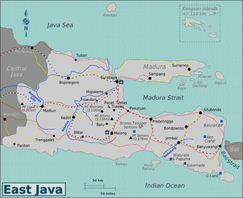 East Java Travel Guide At Wikivoyage