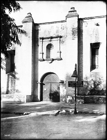 Fileeast Entrance Of Mission San Gabriel With El Camino Real Bell