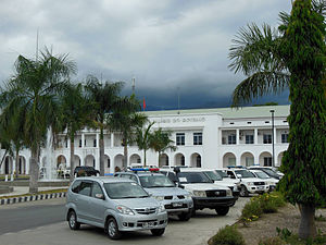 Vehicle registration plates of East Timor - Government vehicles, Palácio do Governo, Dili