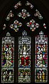 East window, St thomas Becket church, Brightling (14479554311).jpg