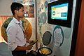 Eating Water - Swami Akhandananda Science Centre - Ramakrishna Mission Ashrama - Sargachi - Murshidabad 2014-11-11 8609.JPG