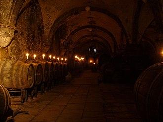 Rheingau (wine region) - Old wine cellar at Eberbach Abbey