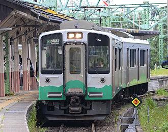E127 series - Echigo Tokimeki Railway ET127 series set V9 in ETR livery