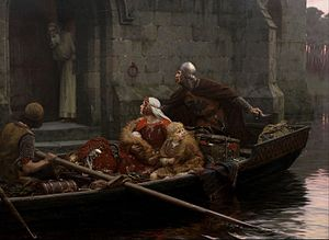 In Time of Peril - Image: Edmund Blair Leighton In Time of Peril Google Art Project