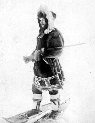Edward William Nelson - Edward William Nelson in Alaska