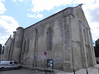 Angles, Vendée - The church of Our Lady of the Angels, in Angles